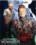 "Ethan Phillips ""Neelix"" (Star Trek Voyager)Star Trek, Genuine Signed Autograph 10x8, 3644"